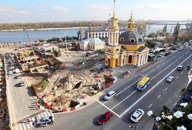 Рада рекомендует запретить строительство на Почтовой площади Киева