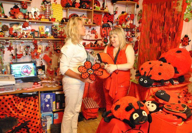 Украинка собрала самую большую коллекцию божьих коровок