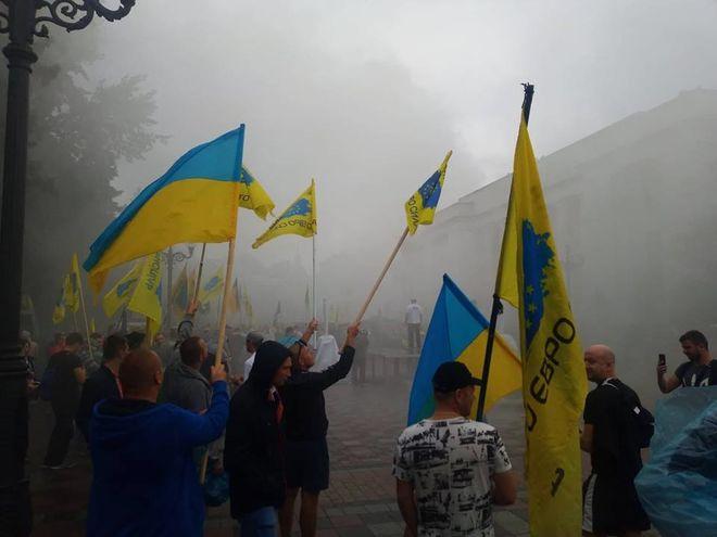 """20 тысяч """"евробляхеров"""" парализовали Киев"""