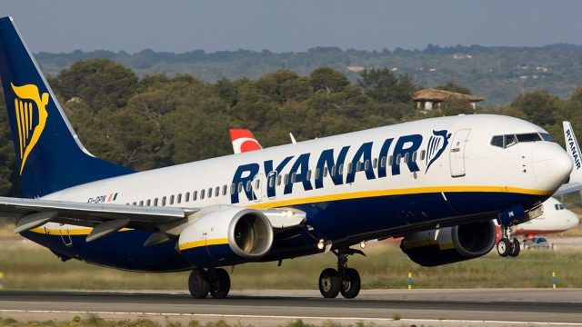 """Ryanair согласовал с """"Борисполем"""" расписание на 17 рейсов"""