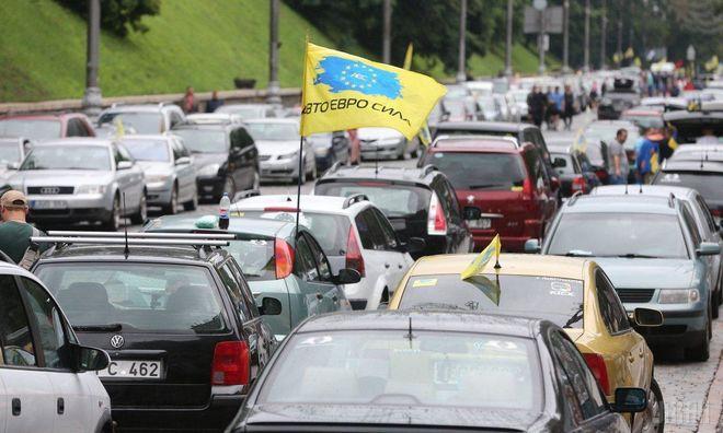 Евробляхи безбожно штрафуют, но их не стали ввозить меньше