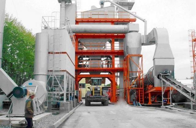 Румыны построили асфальтный завод в Закарпатье
