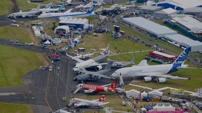 Российские корпорации не поехали на авиасалон в Великобританию