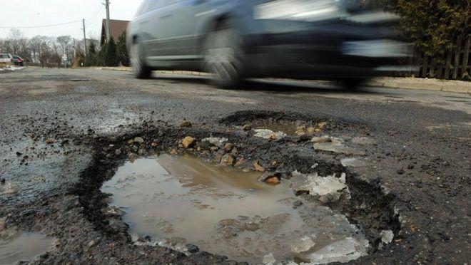 """В """"Укравтодоре"""" сообщили, где в Украине самые плохие дороги"""