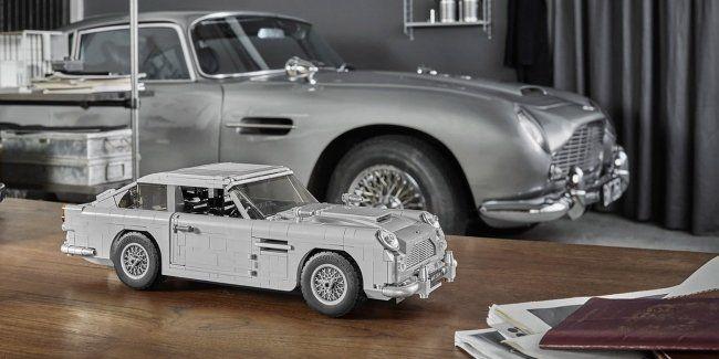 Lego выпустила копию автомобиля Джеймса Бонда
