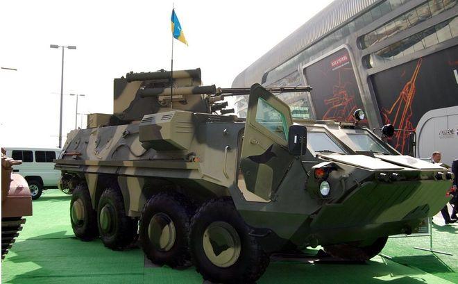 В 2017 году Украина продавала оружие в шесть стран