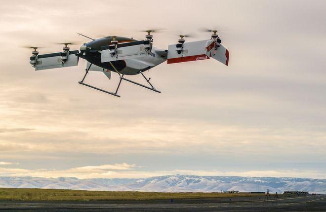 Airbus создаст беспилотник для перевозки медицинских грузов