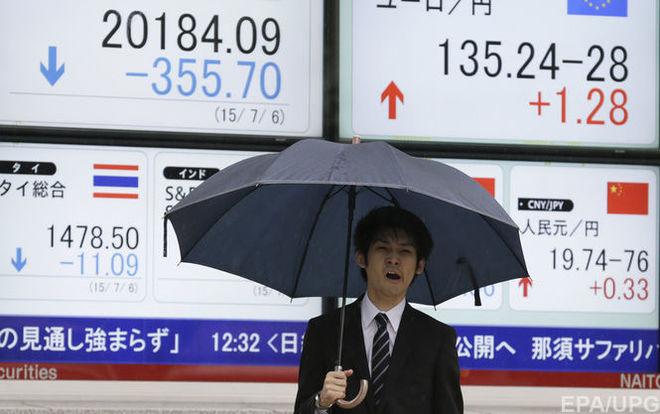 Фондовый рынок Японии вышел на второе место в мире