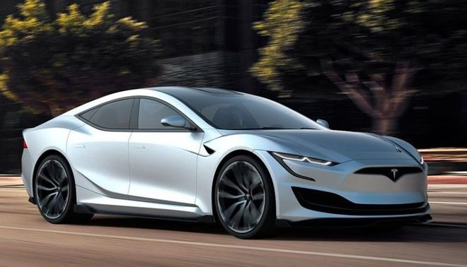 В сети показали новое поколение Tesla Model S