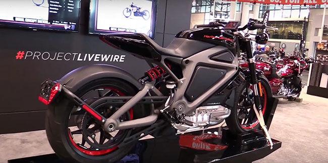 Harley-Davidson выпустит электромобиль