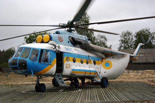 Украинцев будут спасать на вертолетах