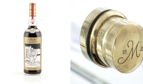 Как выглядит бутылка виски за миллион долларов