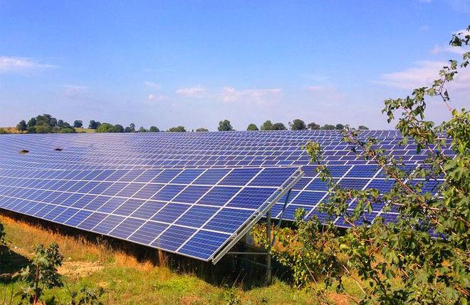 Литовцы будут строить в Украине солнечные электростанции