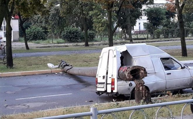 Из-за непогоды украинские водители «влетели» на многотысячные ремонты