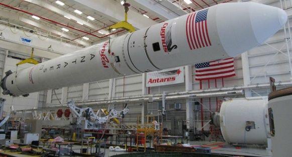 «Южмаш» отправил в США конструкции для ракеты Antares
