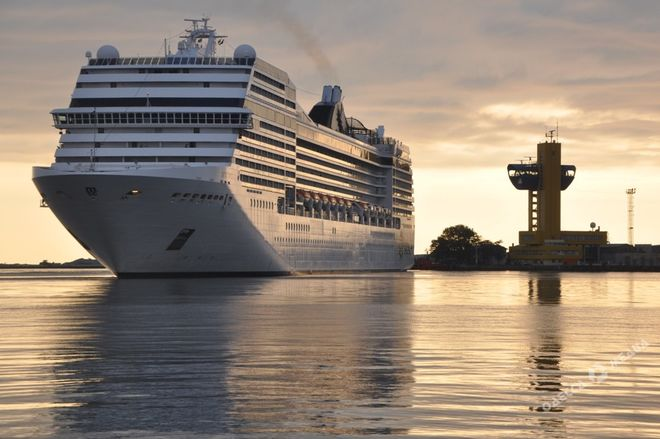 В Одессу вернутся крупные круизные лайнеры