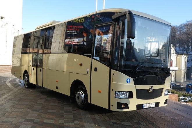 Каждый третий автобус в Украине опасен для пассажиров