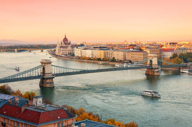 Из-за обмеления Дуная круизные лайнеры не могут зайти в Будапешт