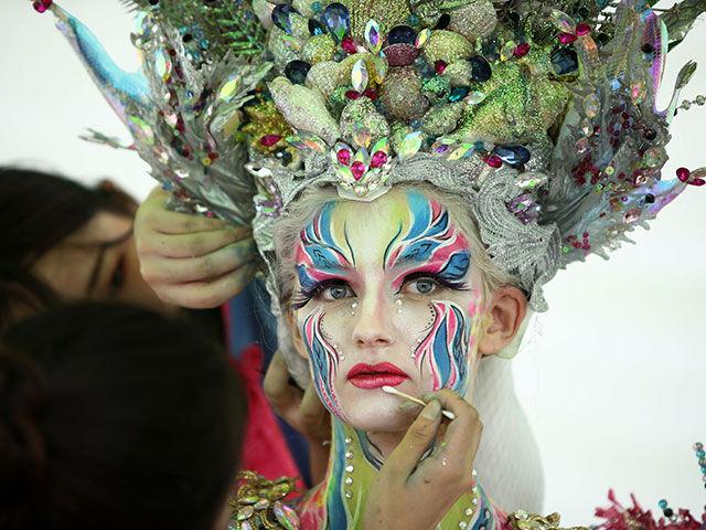 Живые картины: в Корее завершился крупнейший фестиваль бодиарта