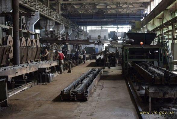 В Винницкой области возобновил работу железобетонный завод