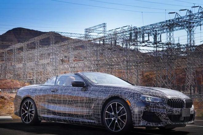 Появились первые фотографии BMW 8-Series