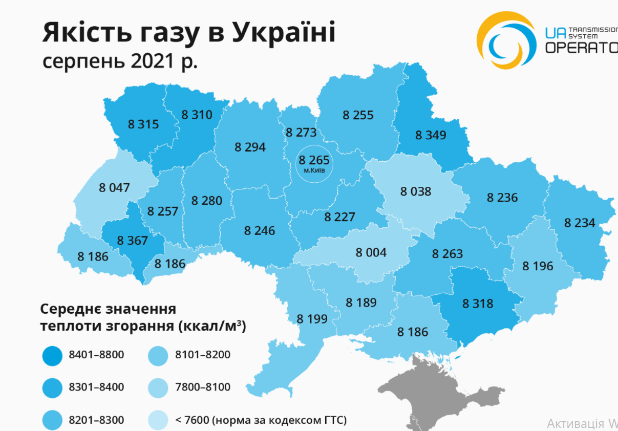 Проверили. Газ для потребителей Николаевской области - не самого высшего качества 1